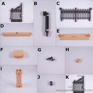 PLAYMOBIL VINTAGE 5360 VICTORIAN FENCE PARTS - DOLLHOUSE MANSION 5300 -COLLECTOR