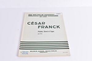 Notenbuch Cesar Franck Prelude, Choral es Fugue Piano Wilhelm Hansen 3385