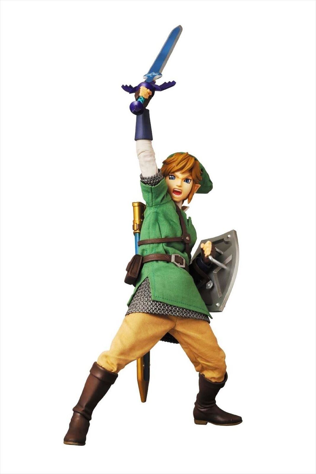 Medicom RAH The Legend of Zelda Skyward Sword Link Real Real Real Action Hero Figure 394228