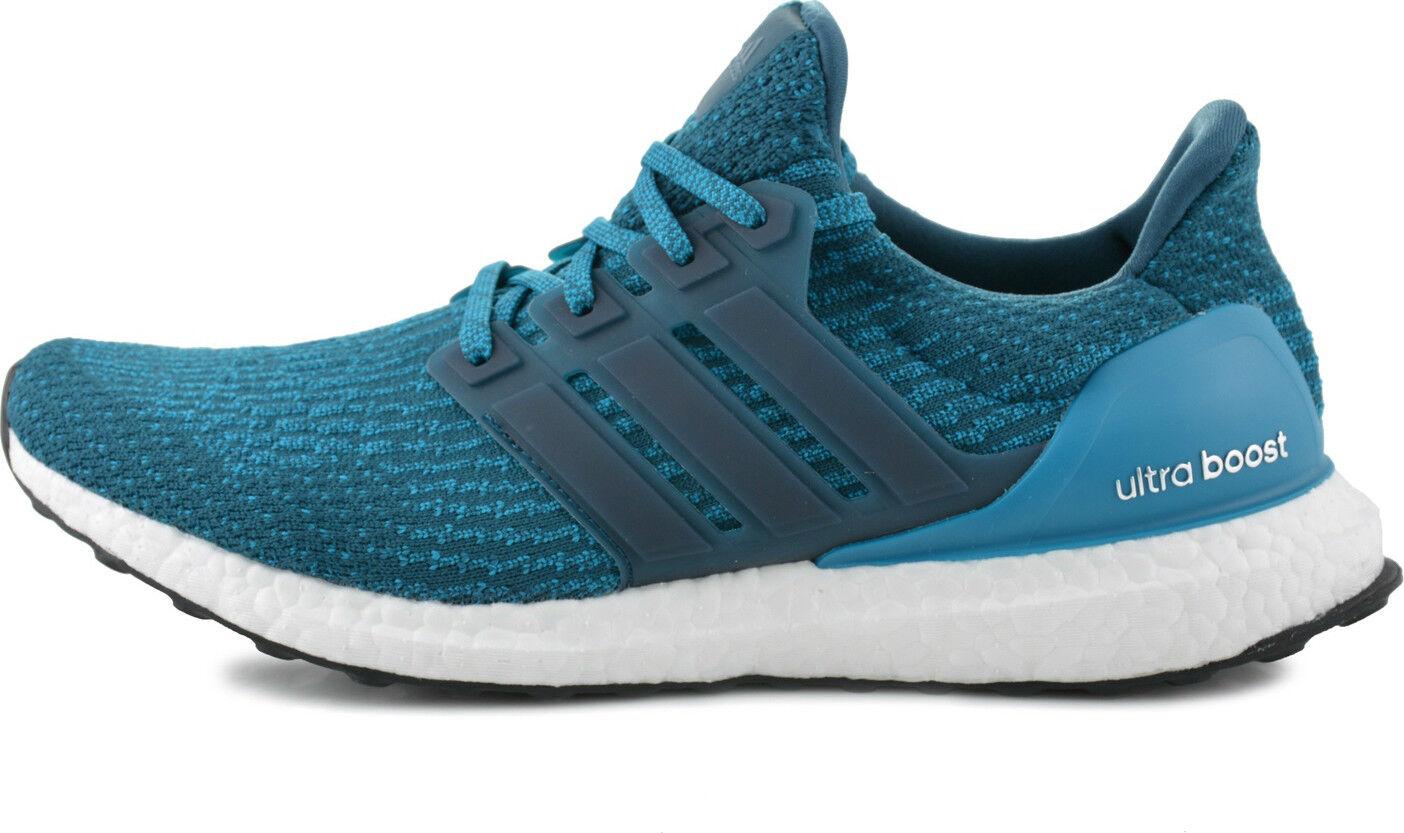 Nuevo Adidas Ultra Boost 3.0 Petrol noche misterio Azul zapatos para hombres zapatos Azul para correr S82021 52a329