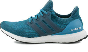 New Adidas Ultra Boost 3.0 Petrol Night Mystery Blue Men s Running ... 2af59e0c8