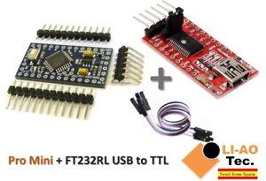 Pro-Mini-ATMEGA328P-5V-16MHz-FTDI-FT232RL-USB-to-TTL-Serial-Converter