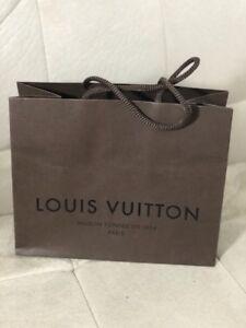 8835e9c8e105 Authentic Louis Vuitton Small Brown Paper Gift Bag 8.5