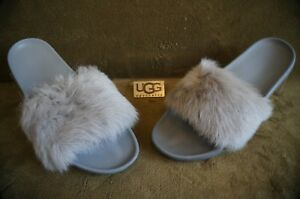 0ef6a6bc154 Details about UGG ROYALE SLIDE SLIPPERS, Womens US 10, Color: SEAL , 1018875