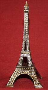 Brass-Eiffel-Tower-French-Souvenir-Statuette