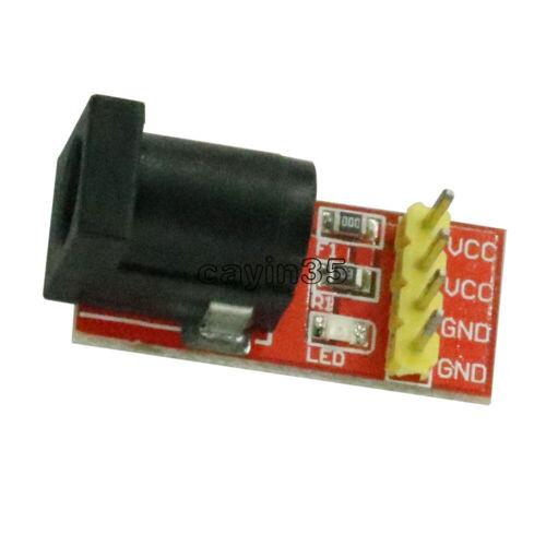5Pcs 5.5mmx 2.1mm DC Jack Socket Power Supply Module 5.5x 2.1mm For Arduino NEW