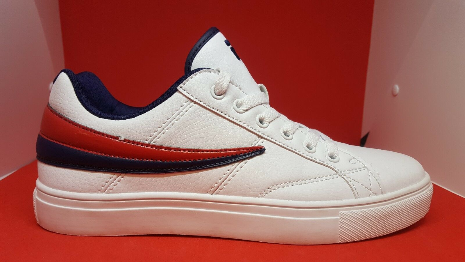 Fila damen Smokescreen Turnschuhe retro schuhe classic fashion sport gym run sz 8
