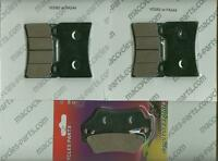 Moto-guzzi Disc Brake Pads Norge 2010-2014 Front & Rear (3 Sets)