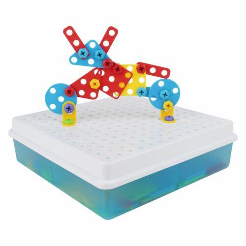 3D DIY Take Apart Game Puzzle Mosaic Pegboard Imagination Creative Building Bric