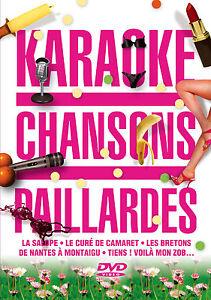 DVD-KARAOKE-Chansons-Paillardes