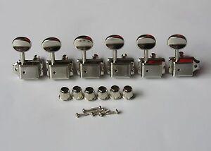 Nickel-Strat-Tele-Vintage-Guitar-Tuning-Keys-Guitar-Tuners-Machine-Heads