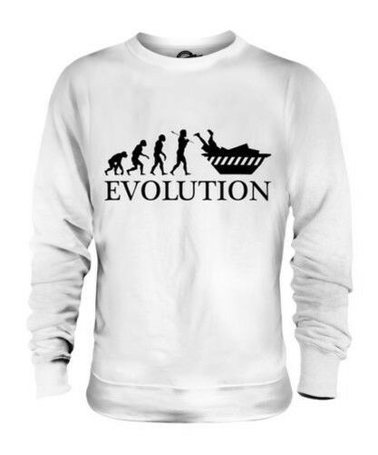 Dumpster Tauchen Evolution des  Herrenchen Unisex Pullover Herren Damen Geschenk
