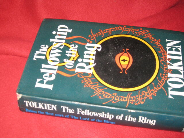 The FELLOWSHIP of the Ring-  J. R. R. Tolkien HbDj 1974 *We have ALL 3 in MELB
