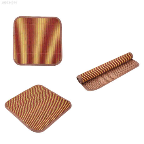 381F Bamboo Car Auto Front//Back Seat Chair 40cm Width Cover Cushion Mat Pad Cool