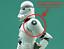 CLONE TROOPER spalla Armour personaggio di Guerre Stellari Quick-Disegna ATTACCO marcisce