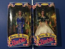 2 New Barbie Doll 1998 Philippines Flores de Mayo Santacruzan Reyna Mora/Caridad