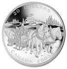 2007 Canada $20 Fine Silver Coin - Holiday Sleigh Ride