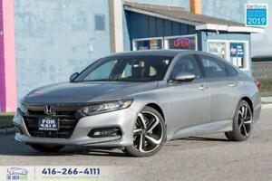 2019 Honda Accord Sport|Low kms|Clean Carfax|