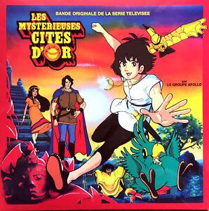 Apollo-LP-Les-Mysterieuses-Cites-D-039-Or-B-O-De-La-Serie-Televisee-Reedition