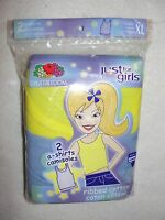 2 Girl's Fruit Of The Loom A-shirt Camisoles - Size Xl