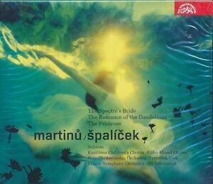 Martinu-Spalicek-CD-NEW-Spectre-039-s-Bride-Romance-of-Dandelions-Primrose