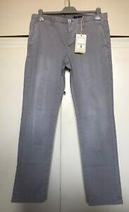 Pantaloni-uomo-JECKERSON-jeans-grigi-tg-34-48-trousers-grey