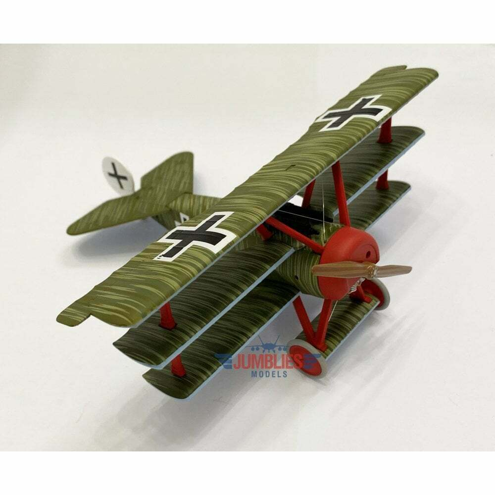 Corgi 1 48 Fokker DR.1 Triplane Wolfram Freiherr von Richthofen Death rot Baron