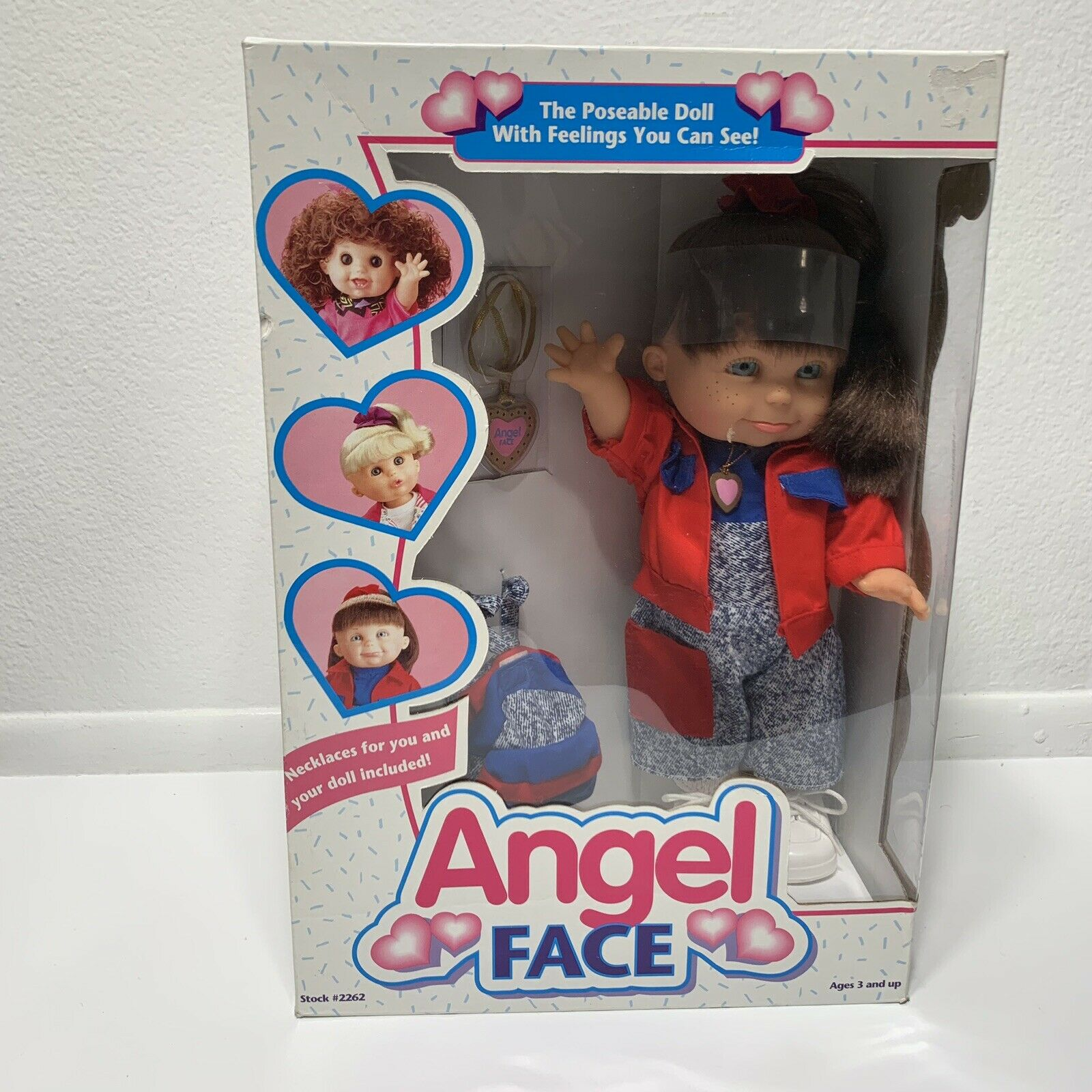 Angel Face Poseable Doll 1995 By Berenguer NEW