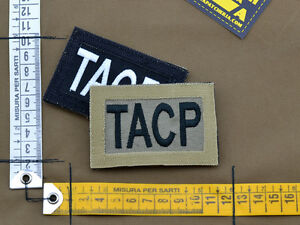 Ricamata-Embroidered-Patch-Reversible-034-TACP-034-with-VELCRO-brand-hook