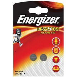 Energizer E300781600 Lr54/189 1.5v Alkaline Coin Cells Carded 2 Rohstoffe Sind Ohne EinschräNkung VerfüGbar