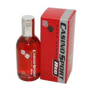 Casino Sport Red By Casino Parfums Edt Spray 4 Oz