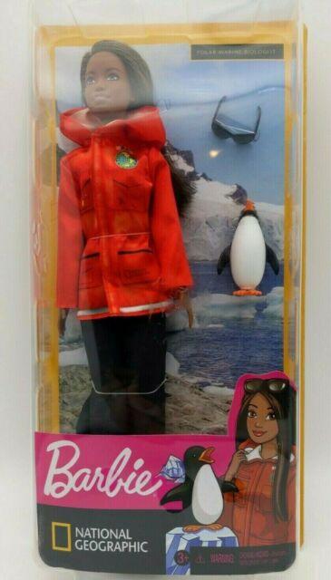 Mattel Barbie National Geographic Polar Marine Biologist Doll And Penguin