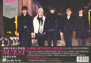NU-039-EST-Yeo-Bo-Se-Yo-CD-DVD-6-Cards-Taiwan-Version-New-Sealed