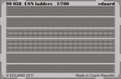 EDUARD 99038 USN Ladders in 1:700