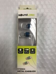 54561d3e1bf SOUND LOGIC STEREO EARBUDS
