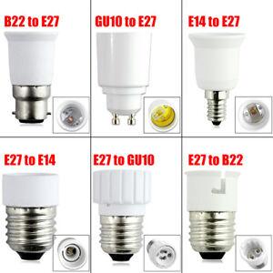 E27-GU10-B22-E14-Ampoule-LED-Convertisseur-Adaptateur-Douille-Extender-Titulaire