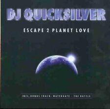 DJ Quicksilver Escape 2 planet love (1998) [CD]