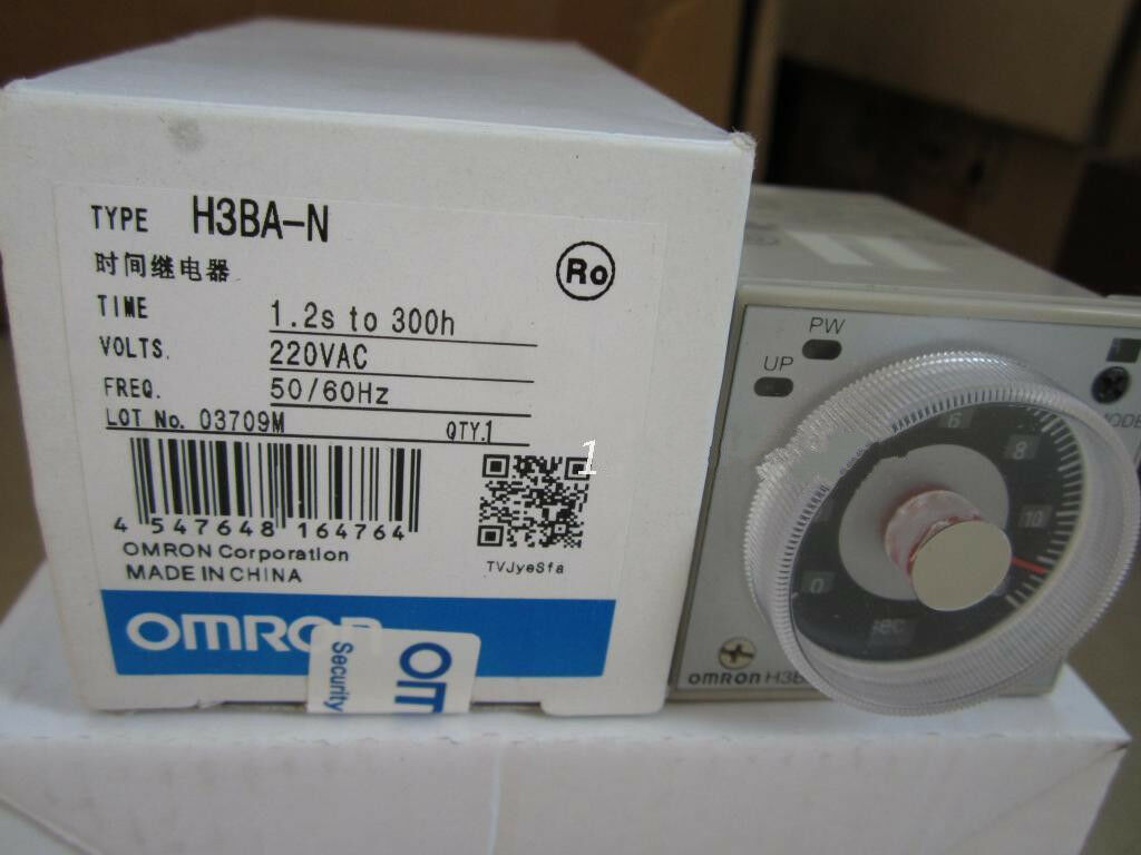 1PC Omron H3BA-N Timer Relay NEW IN BOX