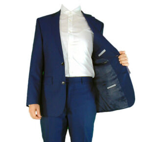 AUSTIN REED Mens Plain Navy Smart Business Suit Jacket and Trousers Various Size
