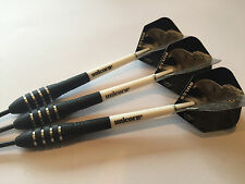 27g BLACK EAGLE Tungsten Darts Set, Unicorn Gripper Stems, HD Eagle Flights