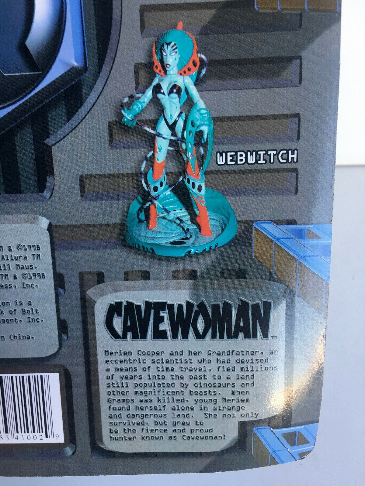 CAVEWOMAN bluee Variant Variant Variant Super Rare  Rendition Comics Budd Root AF-2 d095be