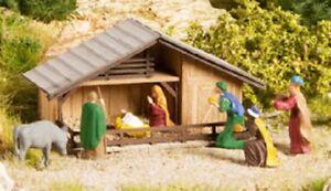NOCH-12027-Gauge-H0-Christmas-Crib-New-Original-Packaging