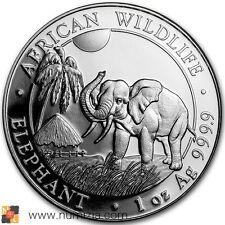 SOMALIA 100 Shillings 2017 Vida salvaje africana - Elefante de Somalia (S/C)