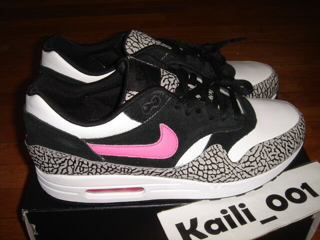 d8b66ad2b04fac ... Nike Air Max 1 ID Size 11.5 Atmos Cement Cement Cement Pink Powerwall  robot parra BRS ...