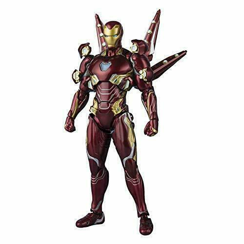 SH Figuarts Avengers Infinity War IRON MAN MARK 50 Set Nano Arma