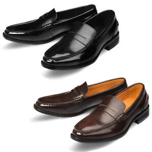 Loafer Shoes Formal Casual Up Vella Leather Mooda Dress Lace Mens Aac6qREnE