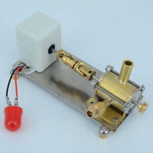 Details about Mini Turbine Steam Engine Power Generator Engine w/ LED