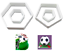 Hexagon-amp-Pentagon-Cookie-Cutters-Shape-Football-Biscuit-Pastry-Cake-Bake-4-Pcs thumbnail 5