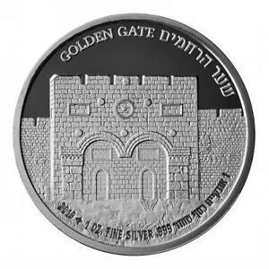 ISRAEL-2019-JERUSALEM-SERIES-GOLDEN-GATE-BULLION-PROOF-1oz-PURE-SILVER-COIN