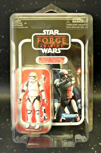 2018 Star Wars Vintage Collection VC118 First Order Stormtrooper w// Star Case
